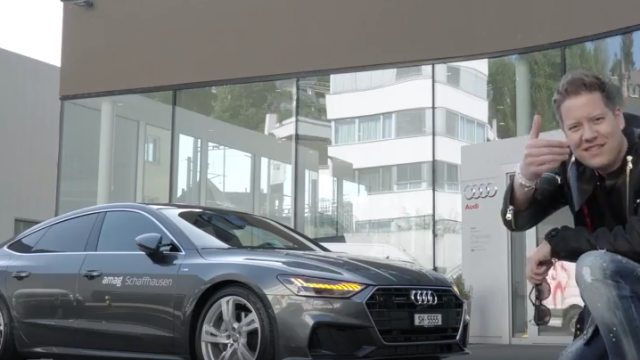 NEW Audi A7 Featuring Mr.Da-Nos at AMAG Schaffhausen