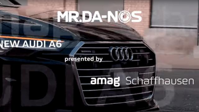 NEW Audi A6 presented by Mr.Da-Nos at AMAG Schaffhausen