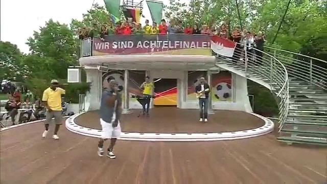 Mr.Da-Nos live @ ZDF Fernsehgarten mit The Product G&B ft. Maury
