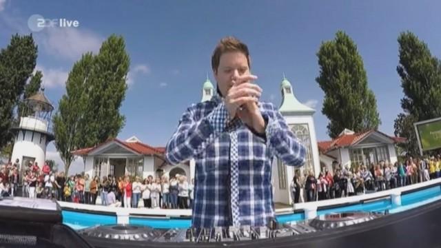Mr.Da-Nos live @ ZDF Fernsehgarten mit Nico Santos – Holding On