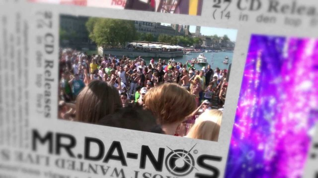 Mr.Da-Nos Energy & Street Parade 2012 (Official Live Video HD)